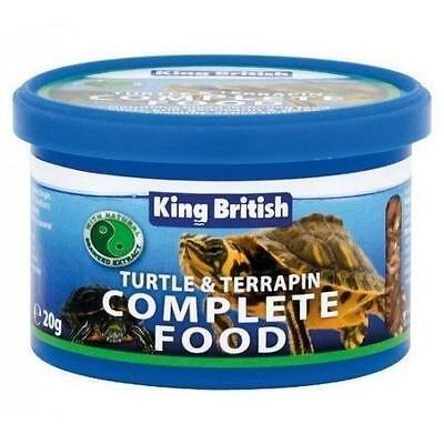 KING BRITISH TURTLE & TERRAPIN COMPLETE FOOD 80g 5017357033600