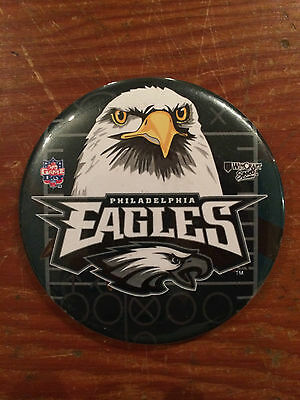 Philadelphia Eagles Vintage 1990's Button Veterans Stadium