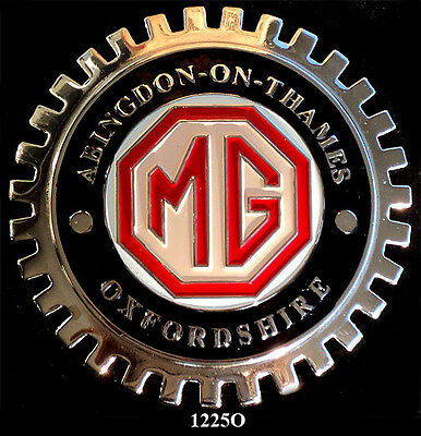 Car Grille Emblem Badges - Mg Oxfordshire Owners Club