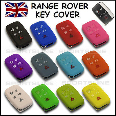 Key Cover For Land Range Rover Smart Remote Fob Case Protector Keyless Entry 45*