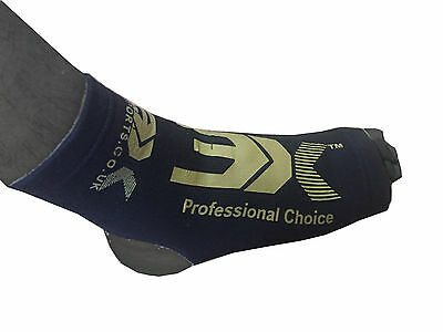 3XSports Ankle Foot Support Anklet Pads MMA Brace Guard Gym Sock Protectors Kick