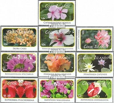 Cookinseln 1642-1651 neuf 2010 timbres: Plantes