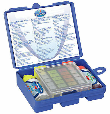 Bestway Swim doctor Pool and Spa Test Kit for Chlorine, Bromine and pH lay z spa