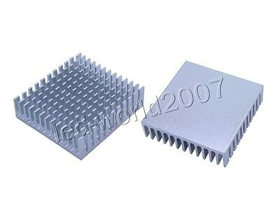 20x Aluminum Heat Sink Heatsink with Cooling Fins for 1W 3W High Power LED Light