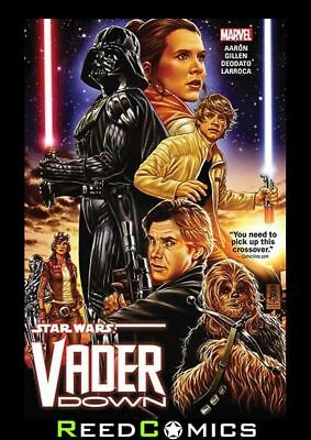 STAR WARS VADER DOWN GRAPHIC NOVEL New Paperback Collects Crossover Story Arc!