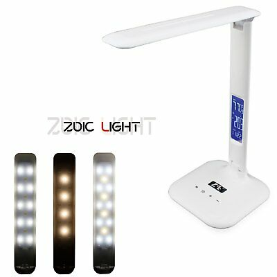 Zoic LED Lamp Rotatable Eye-Protection 3 Modes Touch Screen Desk Lamp Light