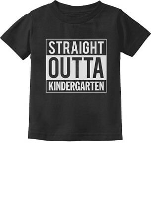 Straight Outta Kindergarten Graduation Gifts Toddler/Infant Kids T-Shirt Boy /