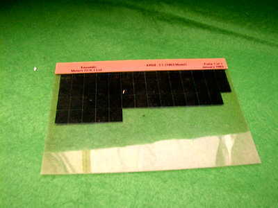Kawasaki Ar50 Ar 50 C1 Gen Part Catalogue Microfiche