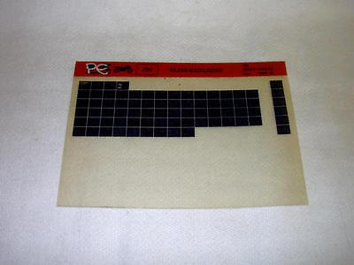 Kawasaki Kl250 Kl 250 D2  (Klr250) Gen Part Catalogue Microfiche