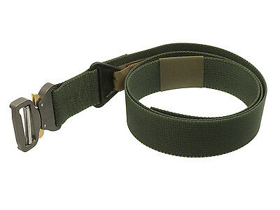 BE-X FronTier One Riggers Belt, mit Cobra Buckle, 45mm breit, 130cm lang - olive