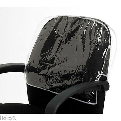 Betty Dain 197 Deluxe Clear Round Styling Salon Vinyl Chair Back Cover