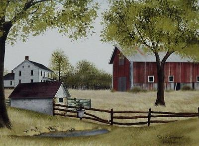 Billy Jacobs The Old Spring House Farm Print 16 x 12