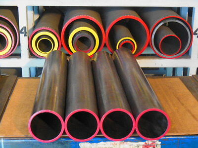 "Dom  Mild Steel Tubing   5.250 "" Od  X   4.500 "" Id ( .375  Wall ) 12 "" Long"