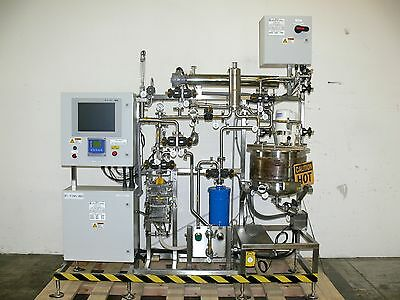 ABEC 50 Liter Process Finishing Skid w/ Heat Exchanger, SPX Mixer & Strainer