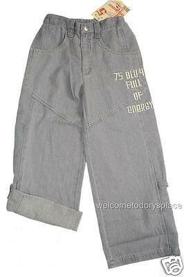 Blu WILD ENERGY Roll Up Cargo Pants Boys Toddler Size 3 Boutique NWT Brand NEW