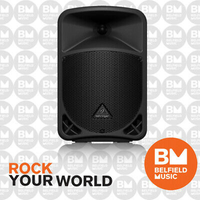 "Behringer EUROLIVE B108D Active PA Speaker 2-Way 300W 8"" Inch System w/ Wireless"