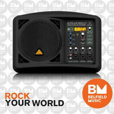 "Behringer EUROLIVE B207MP3 Active PA/Monitor Speaker System 150W 6.5"" w/ MP3"