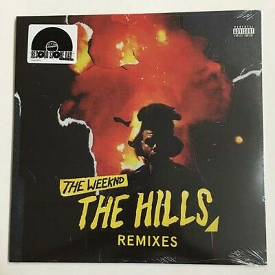 The Weeknd The Hills Remixes 12 Inch Vinyl Single New Rsd 2016