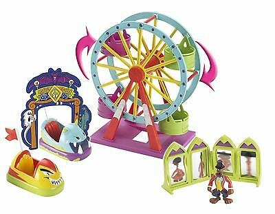 Scooby Doo Glow In The Dark Haunted Fairground Lunapark Playset & Scooby Figure