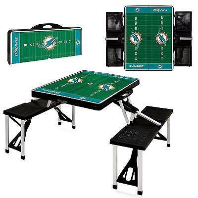 Picnic Time Picnic Table Sport - Miami Dolphins New