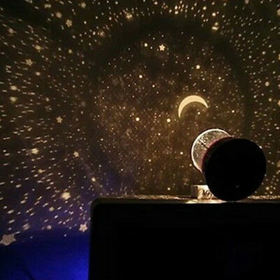 Amazing LED Starry Night Sky Projector Lamp Stars Light Cosmos Master Kid's Gift