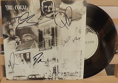 """The Coral Chasing The Tail Of A Dream Signed 7"""" Vinyl New"""