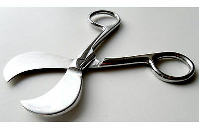 Surgical Grade Umbilical Cord Scissors Whelping Puppy Kittens Breeding NEW
