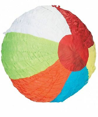 BEACH BALL SUMMER PARTY HOLIDAY Piñata Birthday Party Game Decoration 12952