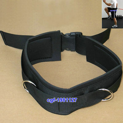Dipping Belt Weight Lifting Body Building Gym Training Back Support Fitness Belt