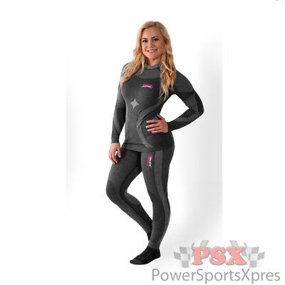 FXR Womens Vapour 25% Merino Seamless Compression Bottom Layer Pant CLOSEOUT