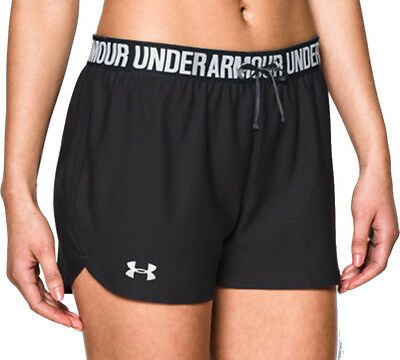 Under Armour Play Up Ladies Running Shorts - Black
