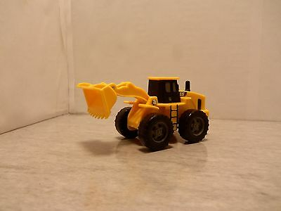 2000's State Plastic Molded CAT Wheel Loader - Moving Bucket - Mint Loose 1/64