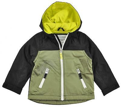 Carter's Toddler Boys Green & Black Micro Fleece Lined Jacket Size 2T 3T 4T