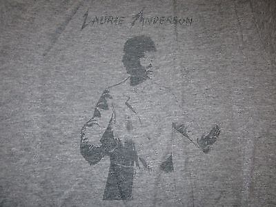 Laurie Anderson Vintage 80S Tee Shirt