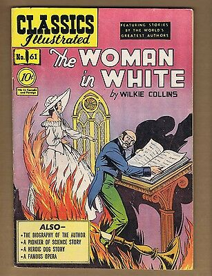 Classics Illustrated 61 (GVG) HRN 62 (Ed 1B) The Woman in White (c#06194)