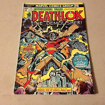 ASTONISHING TALES #25 Marvel Bronze Age Key Issue 1st Appearance of DEATHLOK
