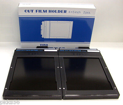 Toyo 4 X 5 Cut Film Holder (Twin Pack, 2 Holders In Box)