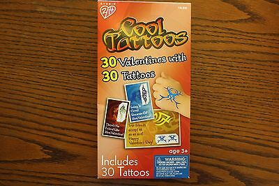 Boxed Cool Tattoos 30 Valentines with 30 Tattoos