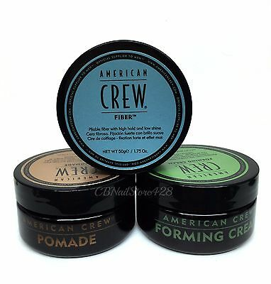 AMERICAN CREW Men's HAIR STYLING 1.7oz/50g - Pick Any Kind