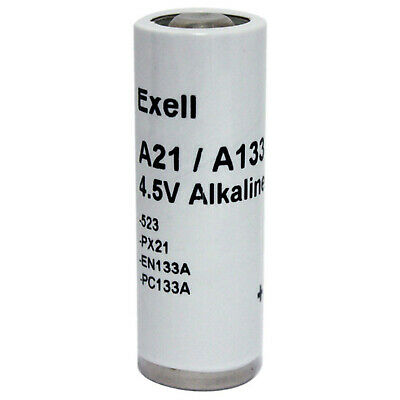 Exell Battery A21PX Battery NEDA ANSI 1306M Eveready E133 Varta 523BP USA SHIP