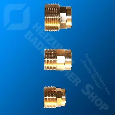 """Soldering Transition Nipples for Copper Pipe: 12 - 54 mm; 3/8 """" 2 #4243 Fittings"""