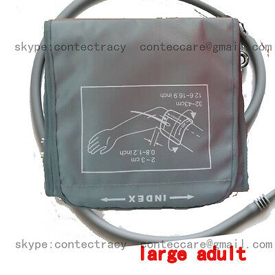 single tube EXTRA LARGE ADULT BP CUFF 32-43.0cm For BP Monitors Sphygs,Reusable