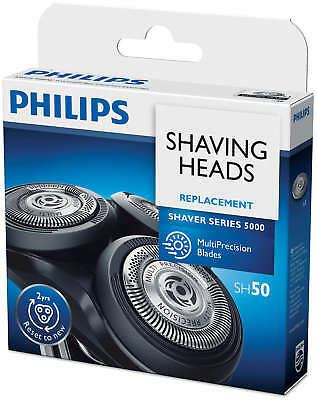 Philips SH50/HQ8 Sensonic Shaver Replacement Heads/Blades Series 5000 Pack