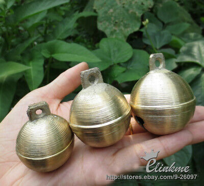 60*50mm Super loud pure copper bells sheep dog animal bells of the brass casting