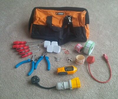 PAT Testing Tool Kit Starter Kit With Microwave Emissions Tester and Labels