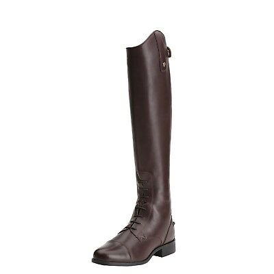 Ariat Heritage Contour Zip Field Boot - Sienna Brown with FREE GIFTS
