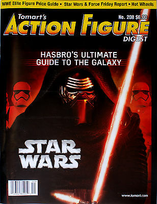 Tomart's Action Figure Digest Issue No. 208, STAR WARS direct from the publisher