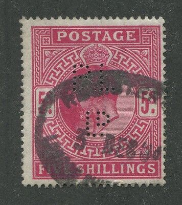 Great Britain #140 Used Dated Perf-In