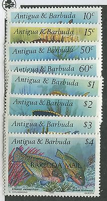 Barbuda #1123-1130 Mint Set Nh