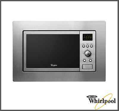 Whirlpool AMW140IX Built-in Kitchen Microwave & Grill 20L ,800-1000 W